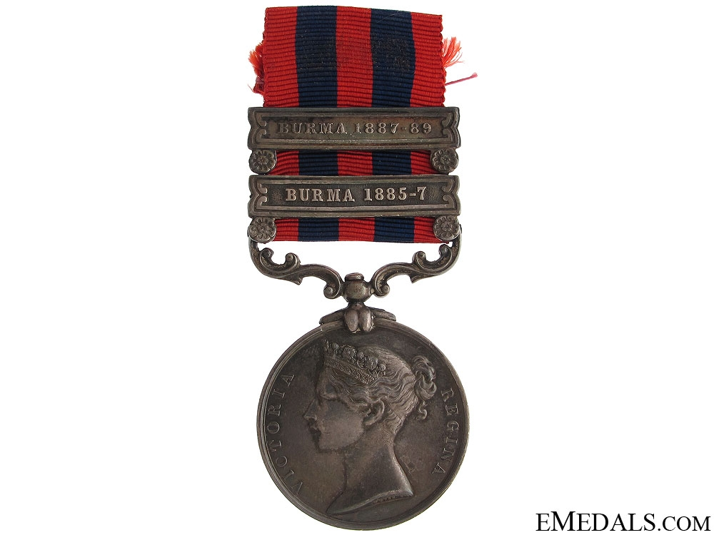 eMedals-India General Service Medal - Rifle Brigade