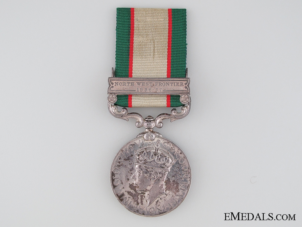 eMedals-India General Service Medal 1936-1939