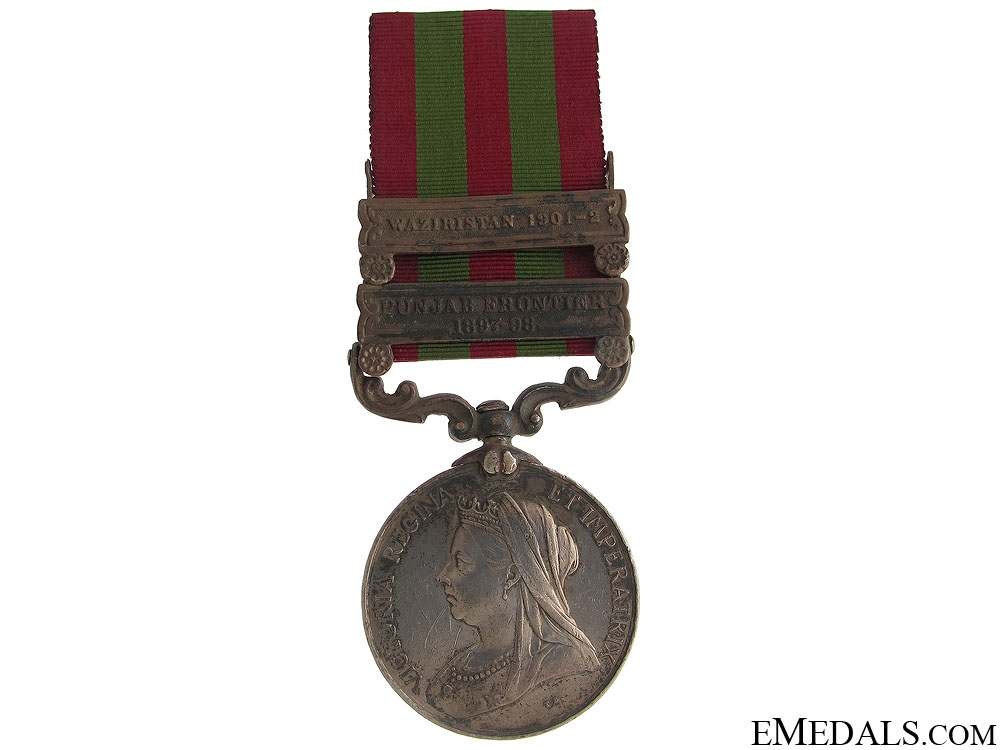 eMedals-India Medal 1895 - 35th Sikhs