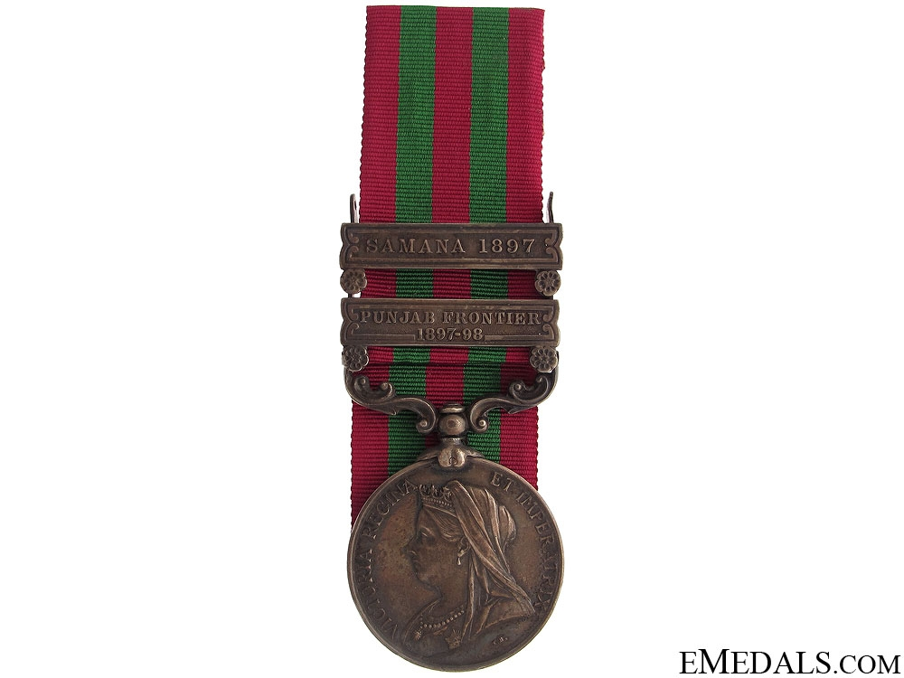 eMedals-India Medal 1895 - Royal Irish