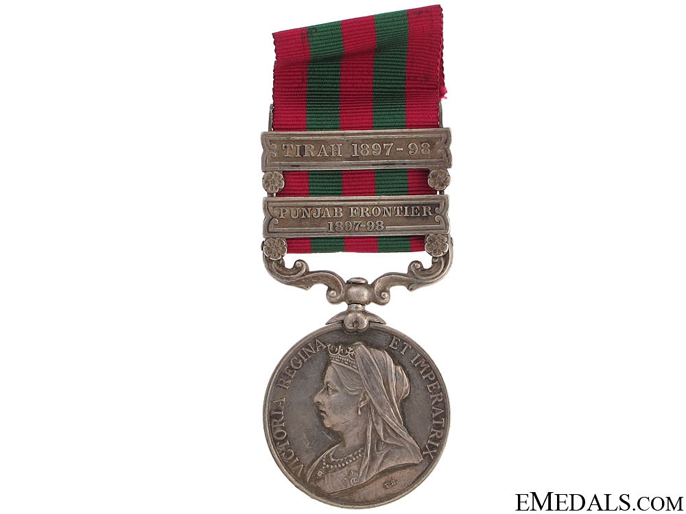 eMedals-India Medal 1896 - Royal Inniskilling Fusiliers