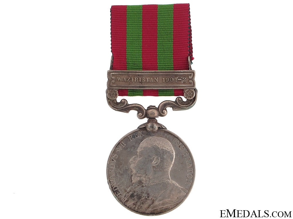 eMedals-India Medal 1896 - 45th Rattray's Sikhs