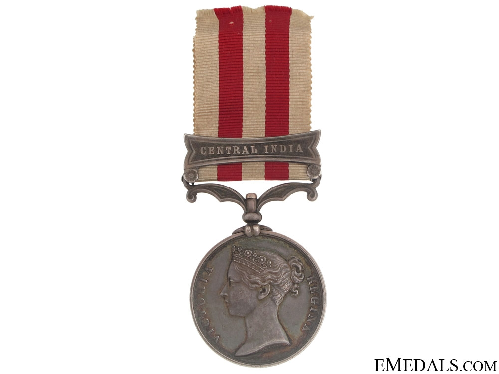 eMedals-Indian Mutiny Medal 1857-58