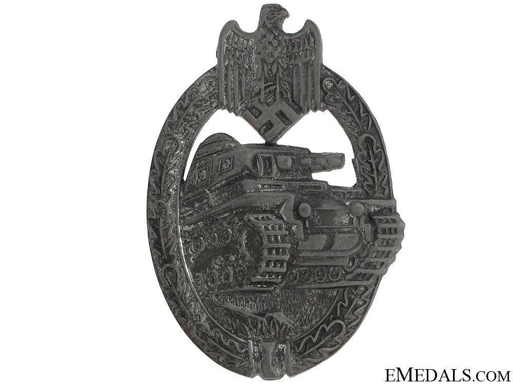 eMedals-Tank Badge – Silver Grade