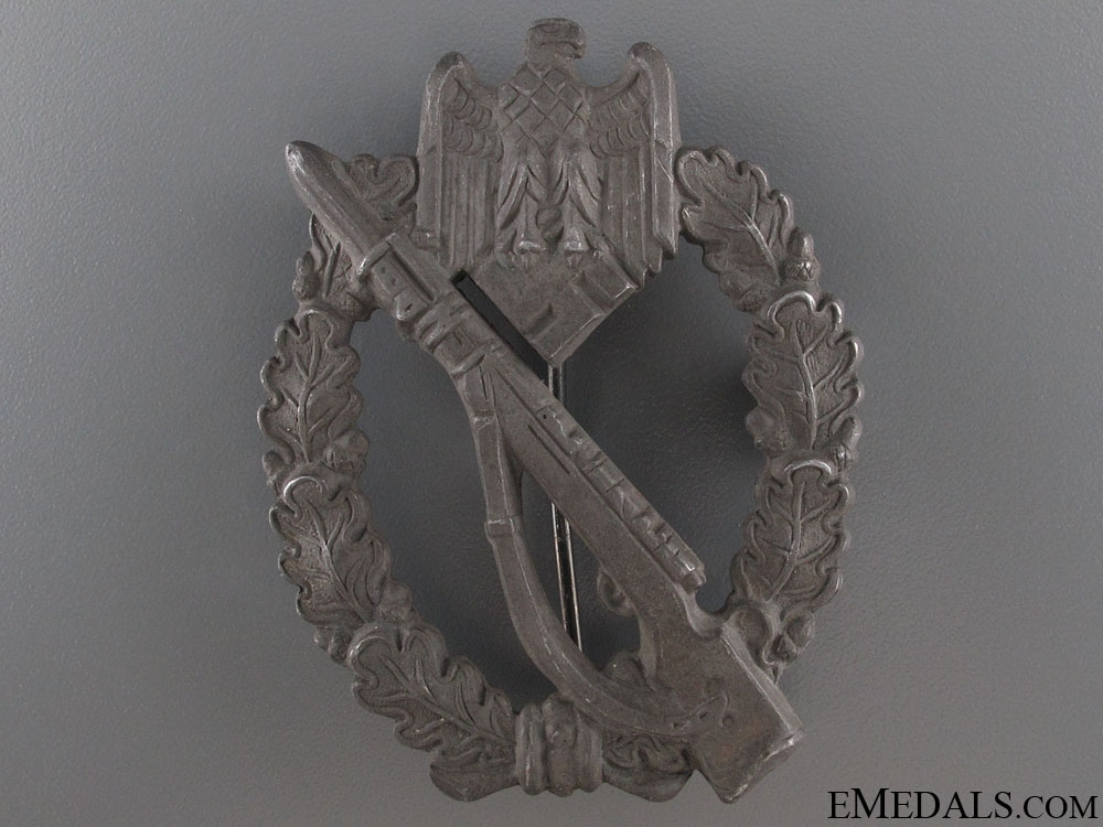 eMedals-Infantry Badge - Silver Grade