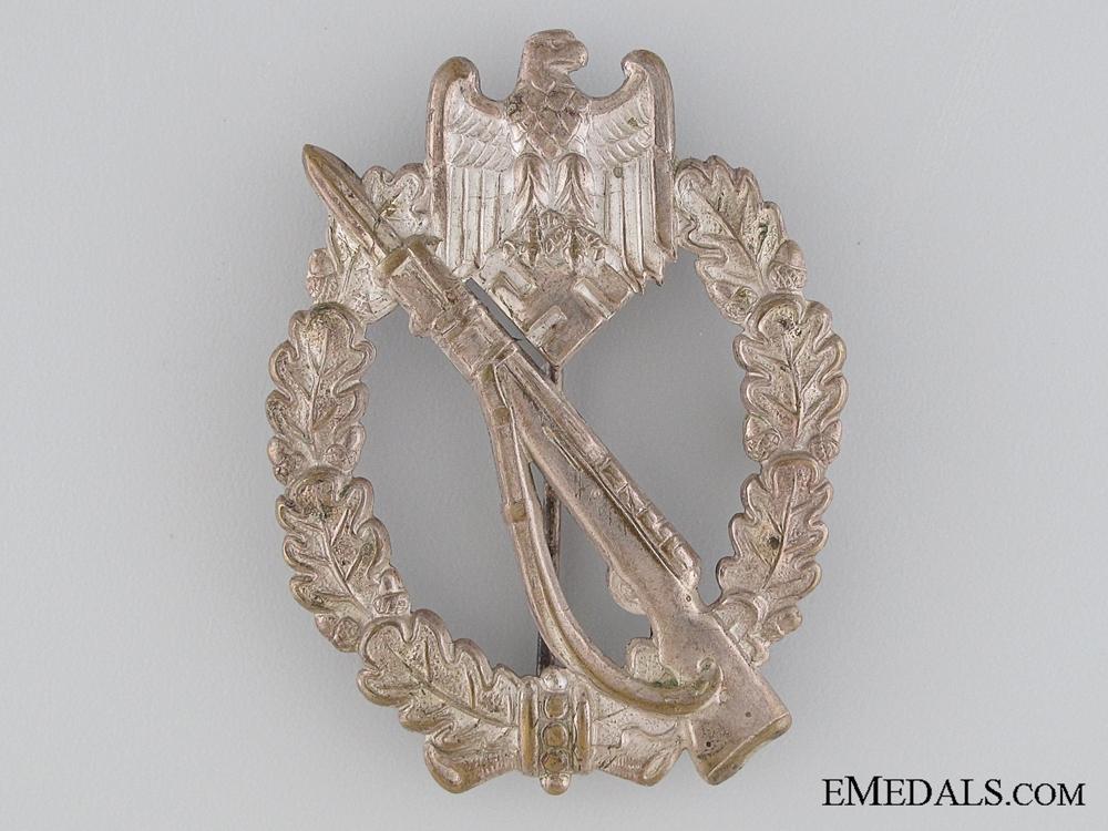 eMedals-Infantry Badge - Silver Grade