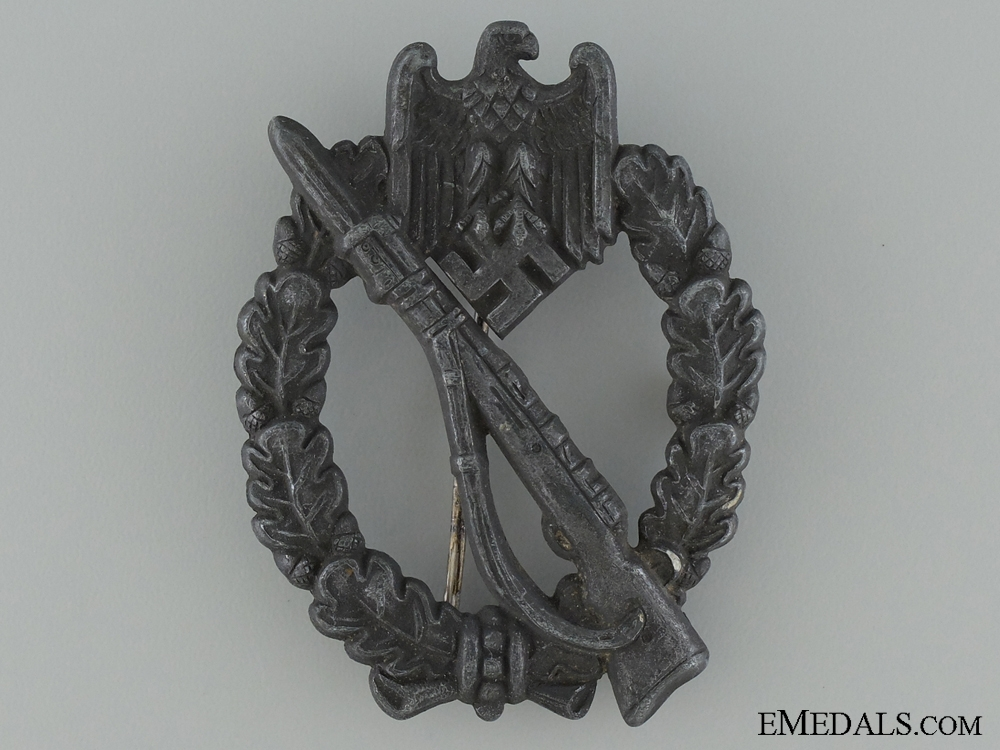 eMedals-Infantry Badge; Silver Grade
