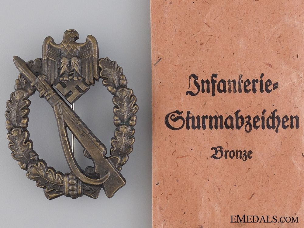 eMedals-Infantry Badge; Bronze Grade by Josef Feix S¡_hne