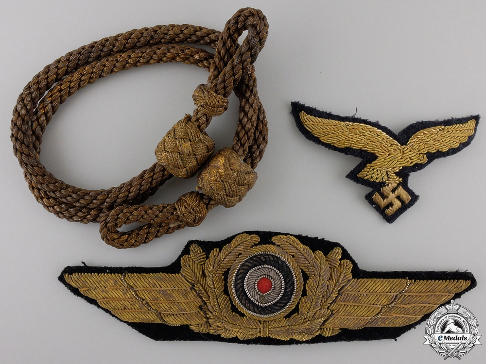 eMedals-Insignia for Luftwaffe General's Visor Cap; 2nd Type