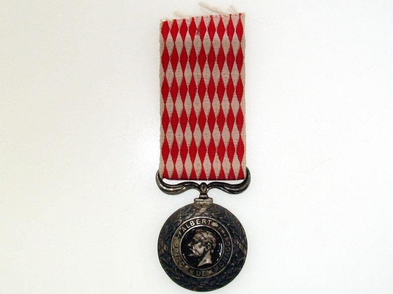 eMedals-Monaco, Silver Civil Merit Medal