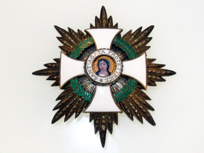 eMedals-San Marino, Order of St. Agatha