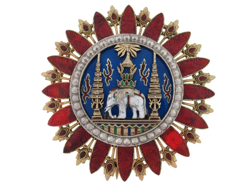eMedals-Thailand, The Most Exalted Order of the