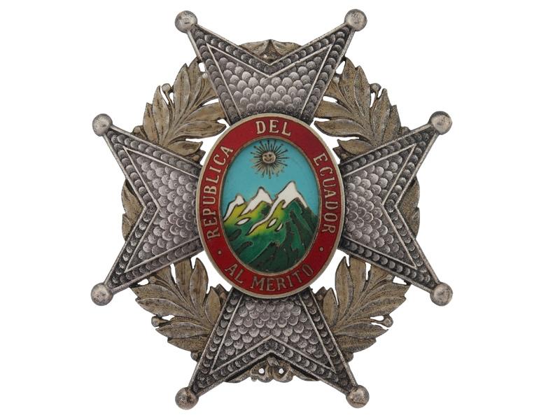 eMedals-Ecuador, Order of Merit