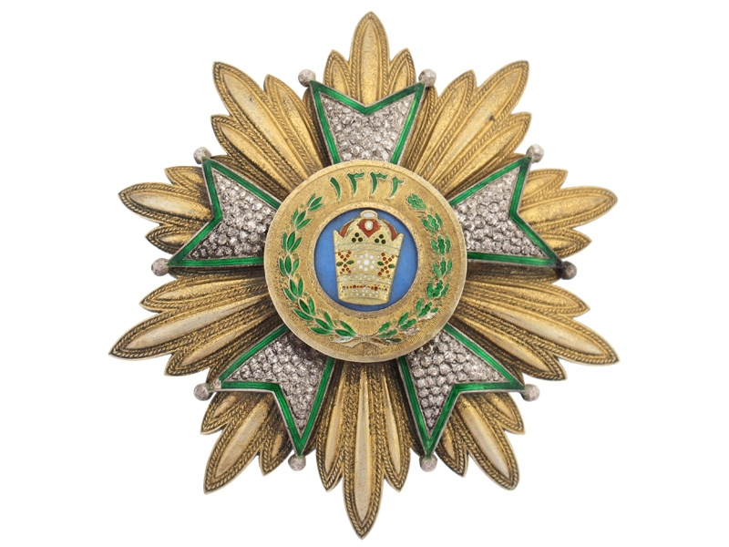eMedals-Persia/Iran, Order of Crown (Order of Taj)