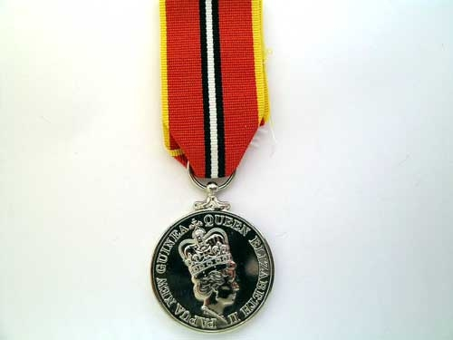 eMedals-PAPUA NEW GUINEA,  INDEPENDENCE MEDAL 1975-85