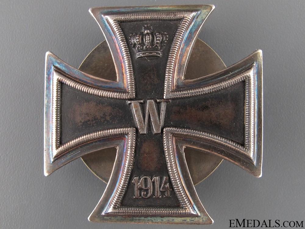 eMedals-Iron Cross 1st Class 1914 - 925 Screw Back