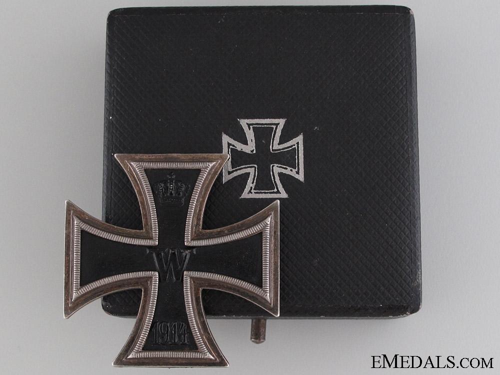 eMedals-Iron Cross 1st Class 1914 - Brothers Friedländer