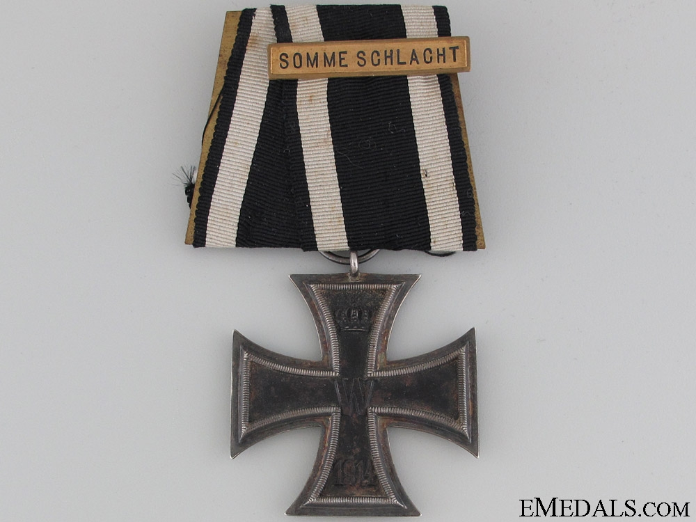 eMedals-Iron Cross 2nd Class 1914 - Somme Bar