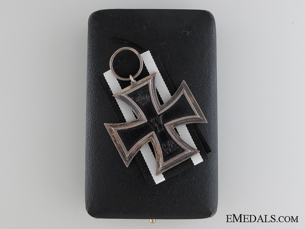 eMedals-Iron Cross 2nd Class 1914 with Case