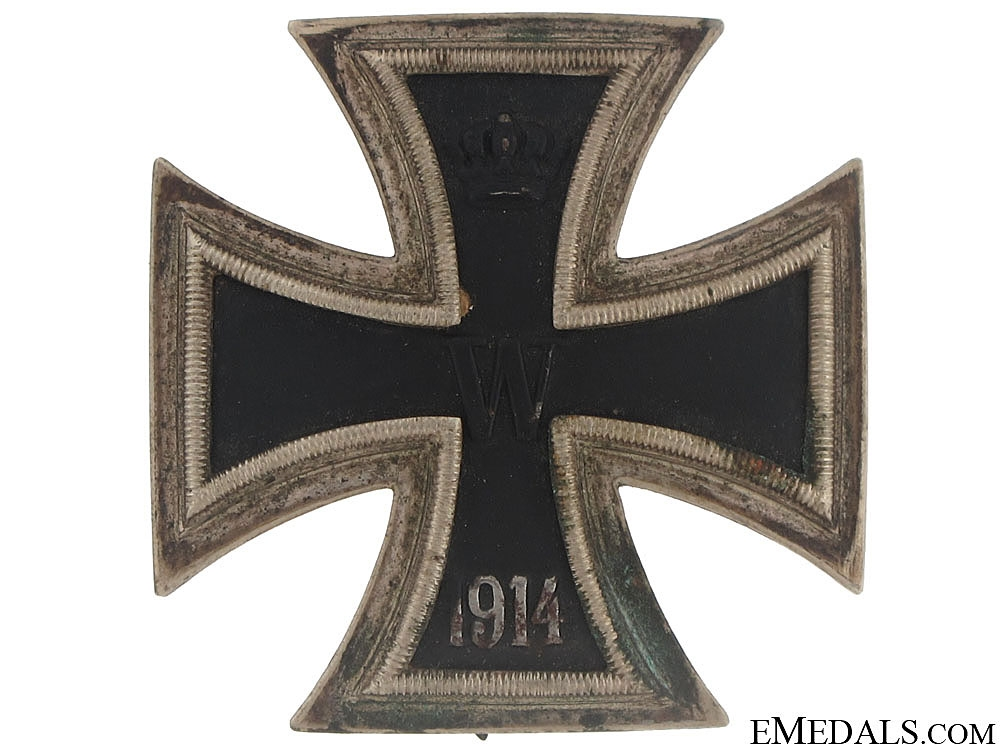 eMedals-Iron Cross First Class 1914 - Juncker