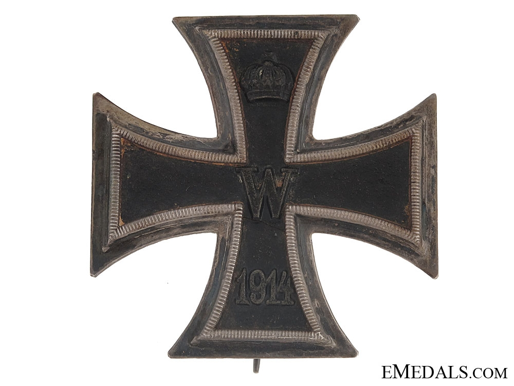 eMedals-Iron Cross First Class 1914 – marked K.A.G.