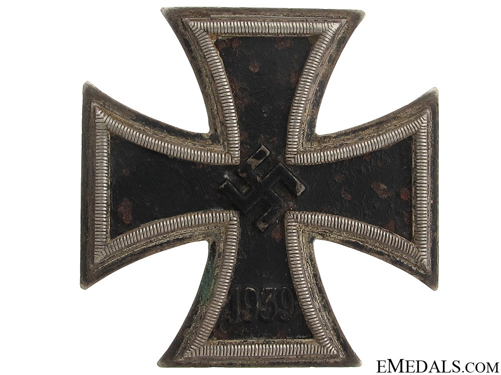 eMedals-Iron Cross First Class 1939 - Double Marked