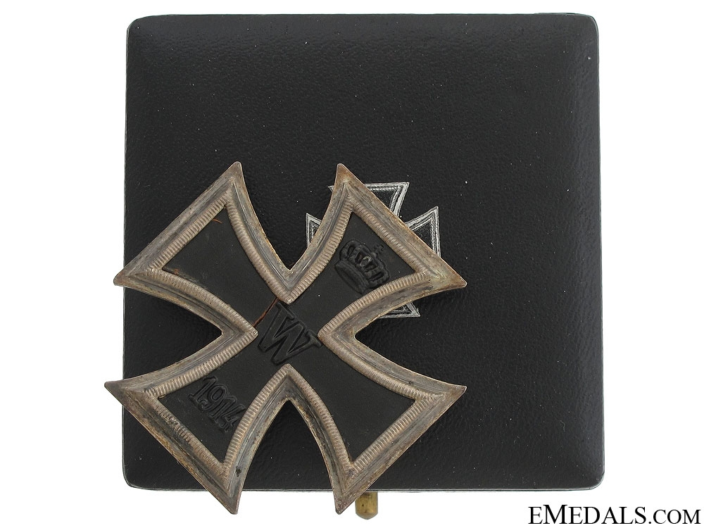 eMedals-Iron Cross First Class 1914 - Marked