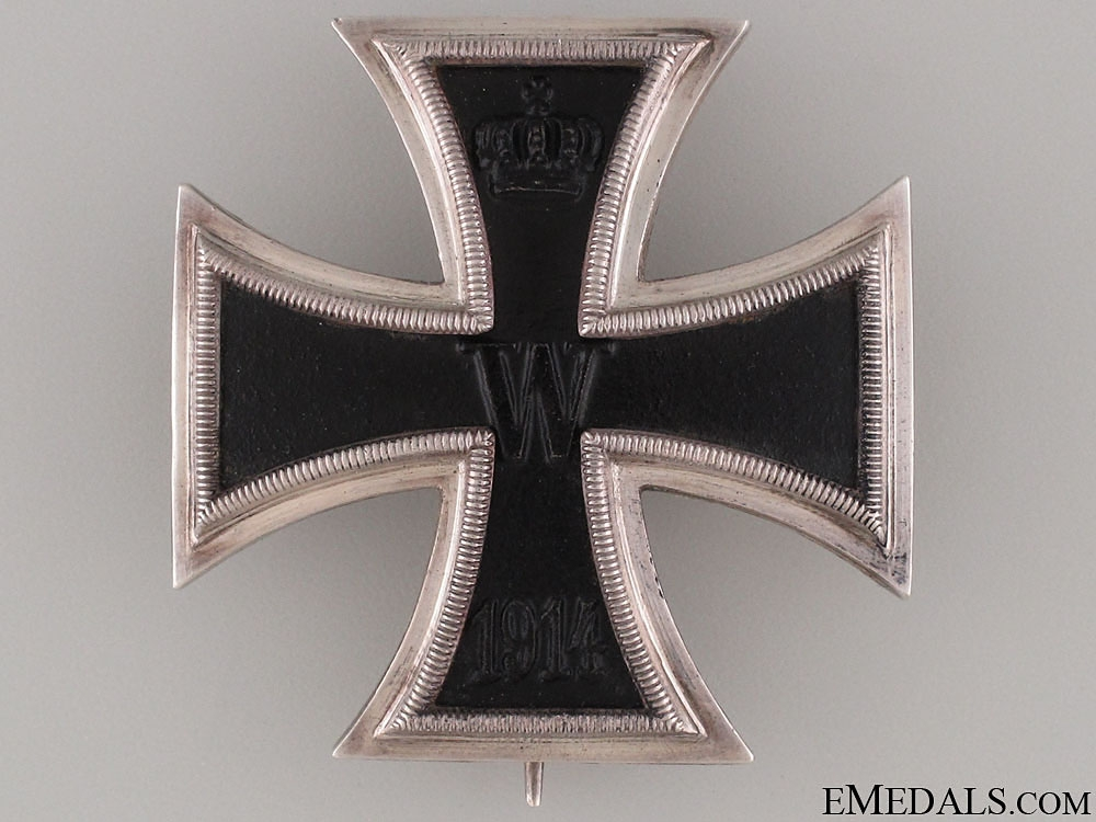 eMedals-Iron Cross First Class 1914 - Silver & Named   CONSIGNMENT