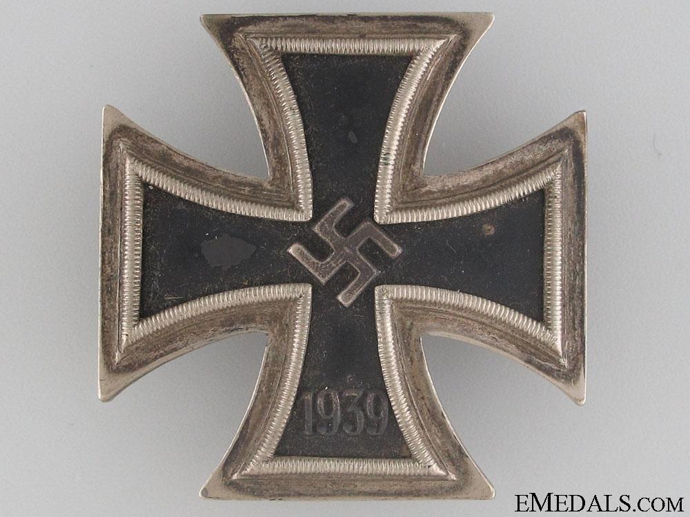 eMedals-Iron Cross First Class 1939 by Juncker