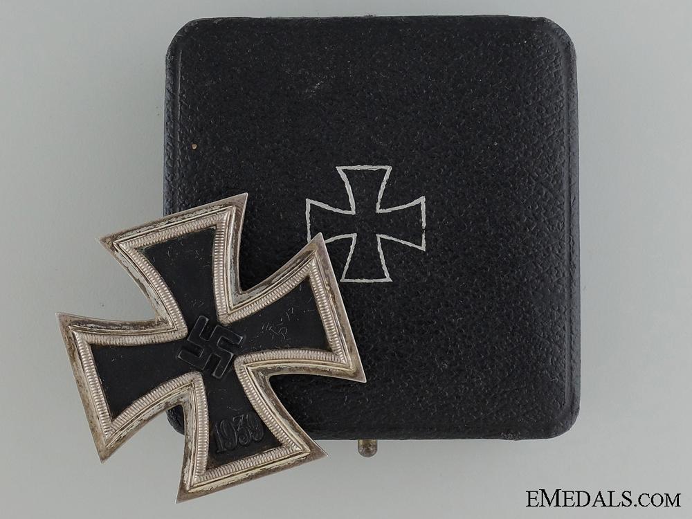 eMedals-Iron Cross First Class 1939 by B.H.Mayer