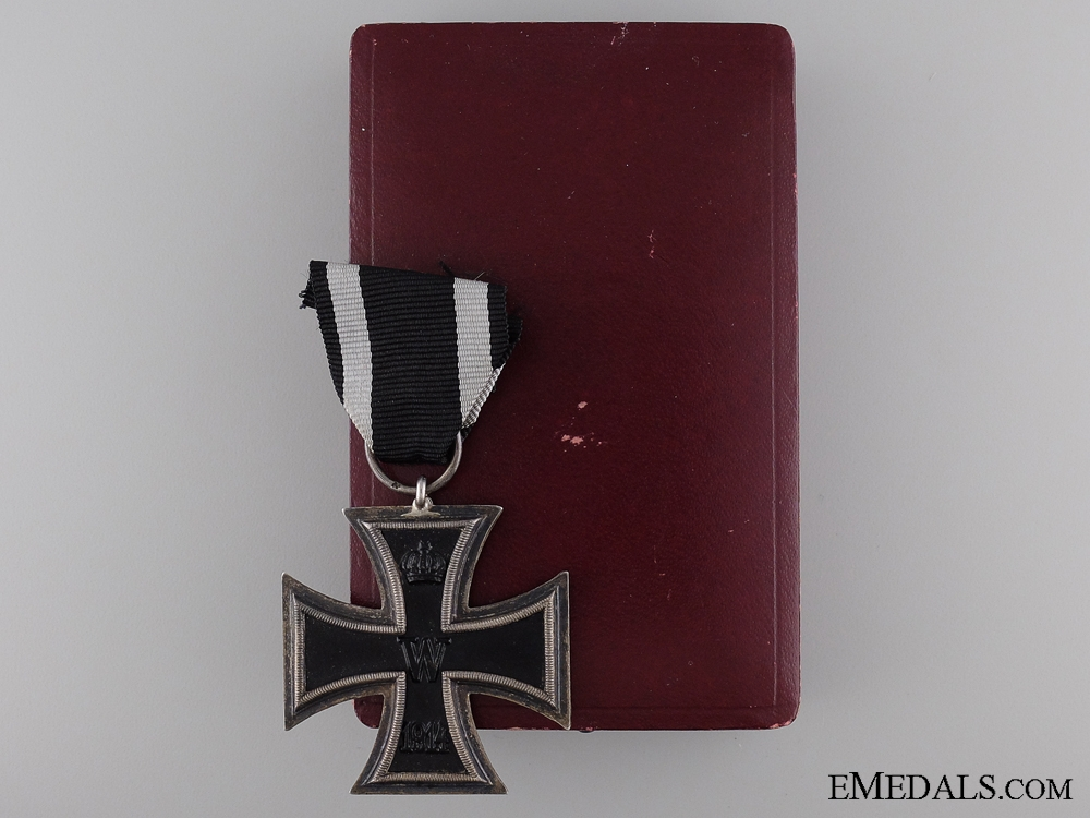 eMedals-Iron Cross Second Class 1914; Marked with Case of Issue