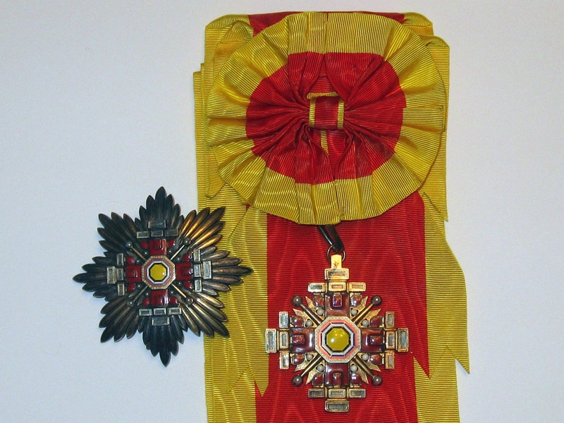 eMedals-Manchukuo, the Order of the Pillars