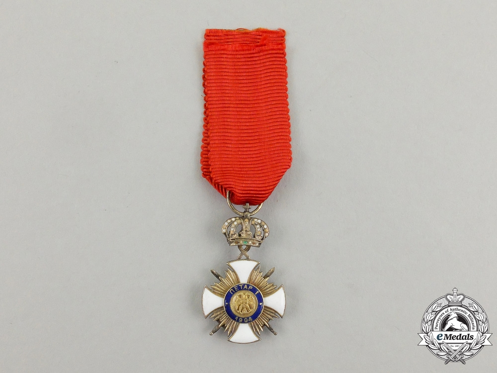 eMedals-A Miniature Serbian Order of the Star of Karageorge