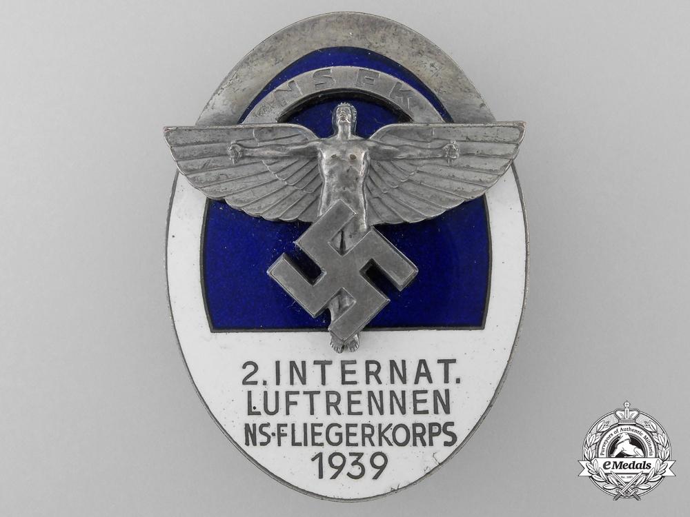 eMedals-A 1939 NSFK Award; NS-Fliegerkorps