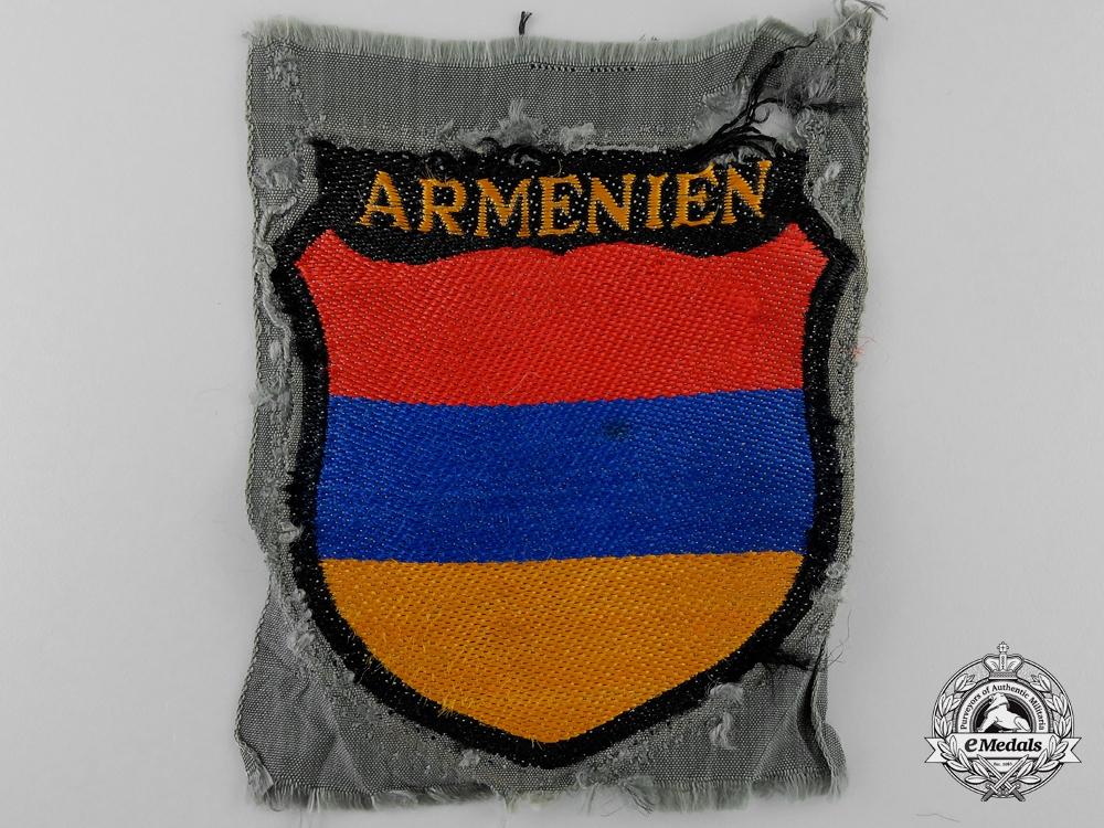 """eMedals-A Waffen-SS """"Armenien"""" (Armenian) Sleeve Shield"""