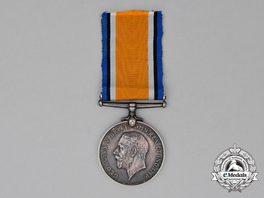 eMedals-A British War Medal to 2nd Lieutenant Herbert Thomas Mackie, Royal Air Force