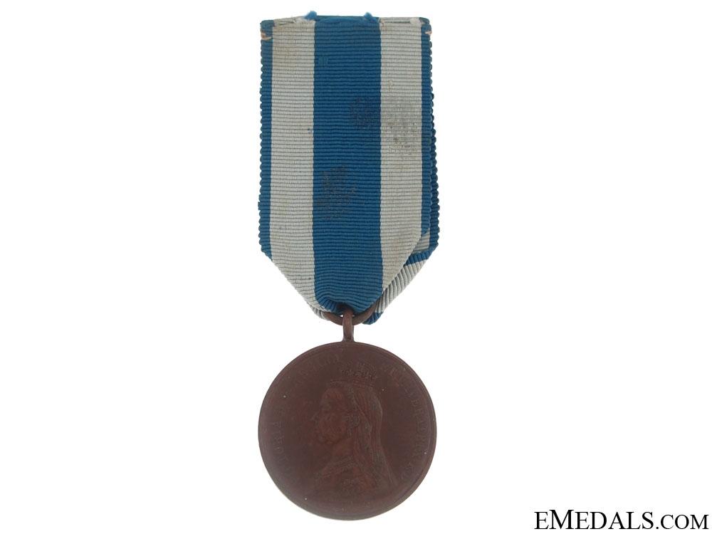 eMedals-Jubilee Medal 1897 - Bronze