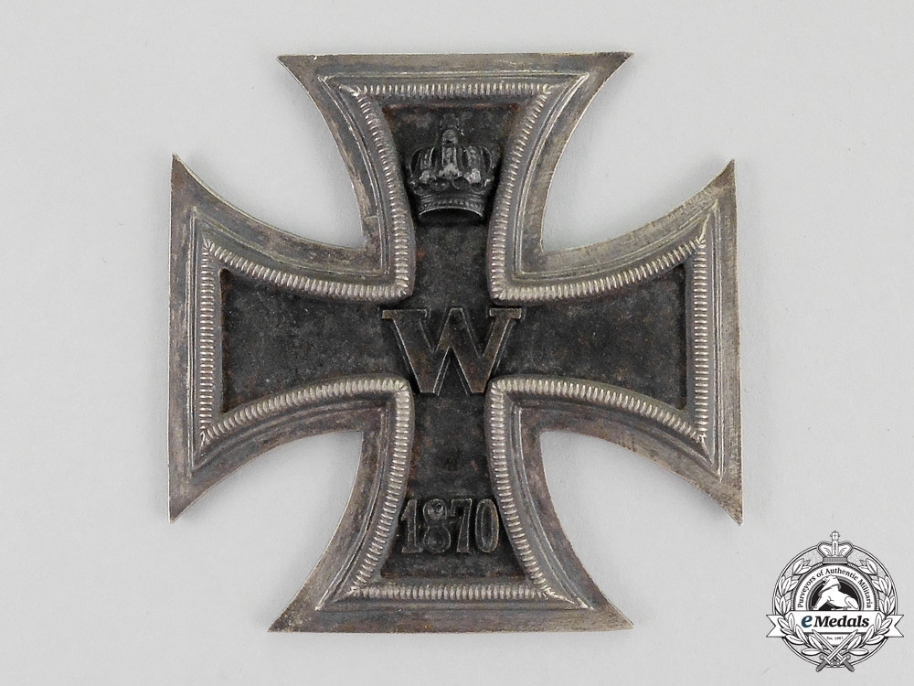 eMedals-A Prussian Grand Cross of the Iron Cross 1870 Flag Box Appliqué