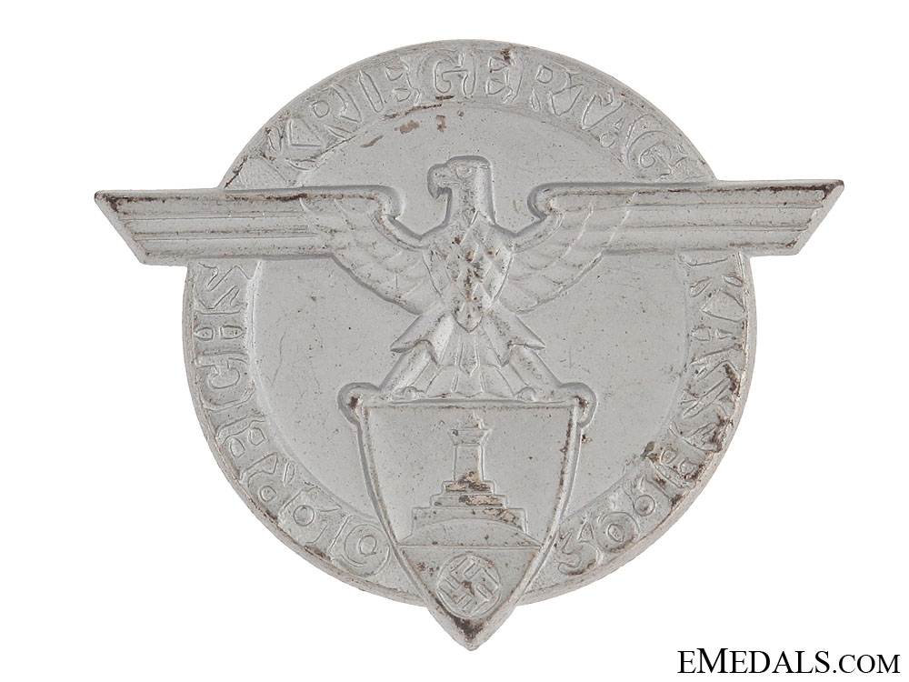 eMedals-Kassel Day Badge 1936