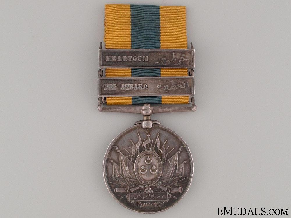 eMedals-Khedive's Sudan Medal 1896 - 1st Seaforth