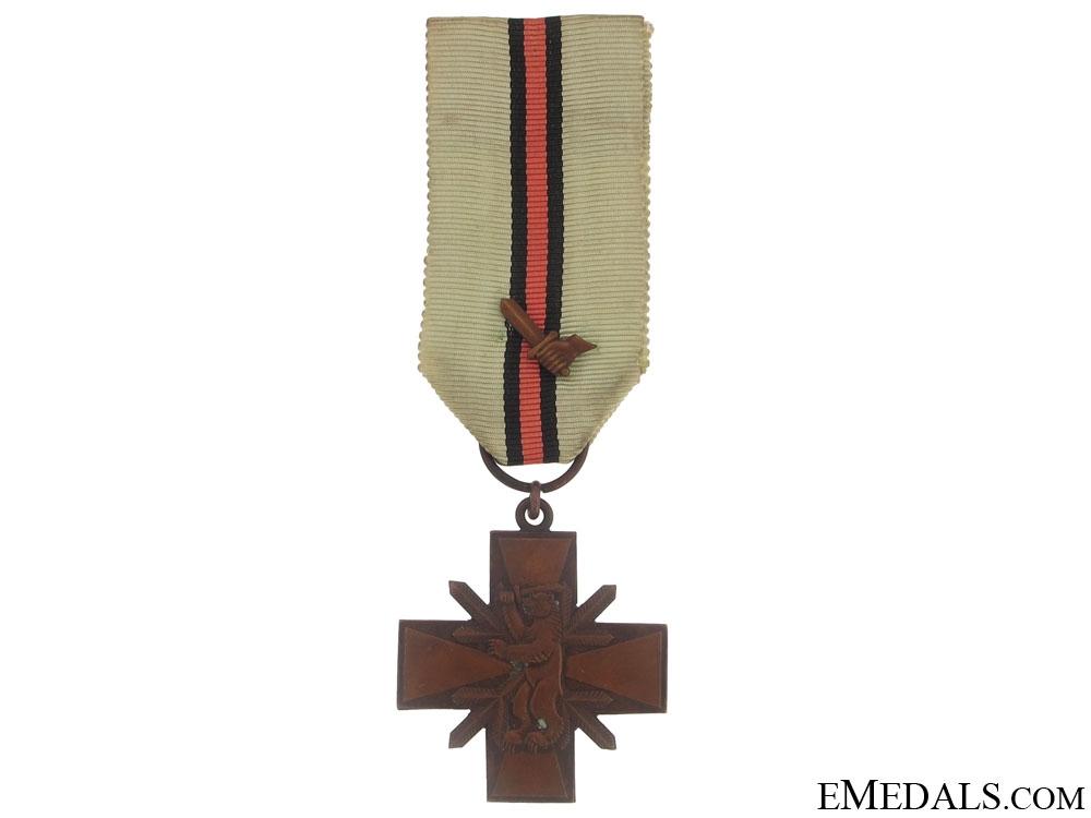 eMedals-Kindred Nations War Cross (Heimosotaristi), 1918-1922