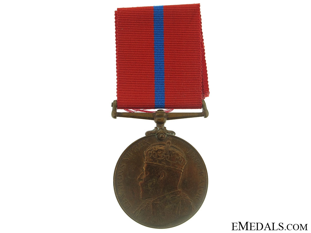 eMedals-King Edward VII Coronation (Police) Medal 1902