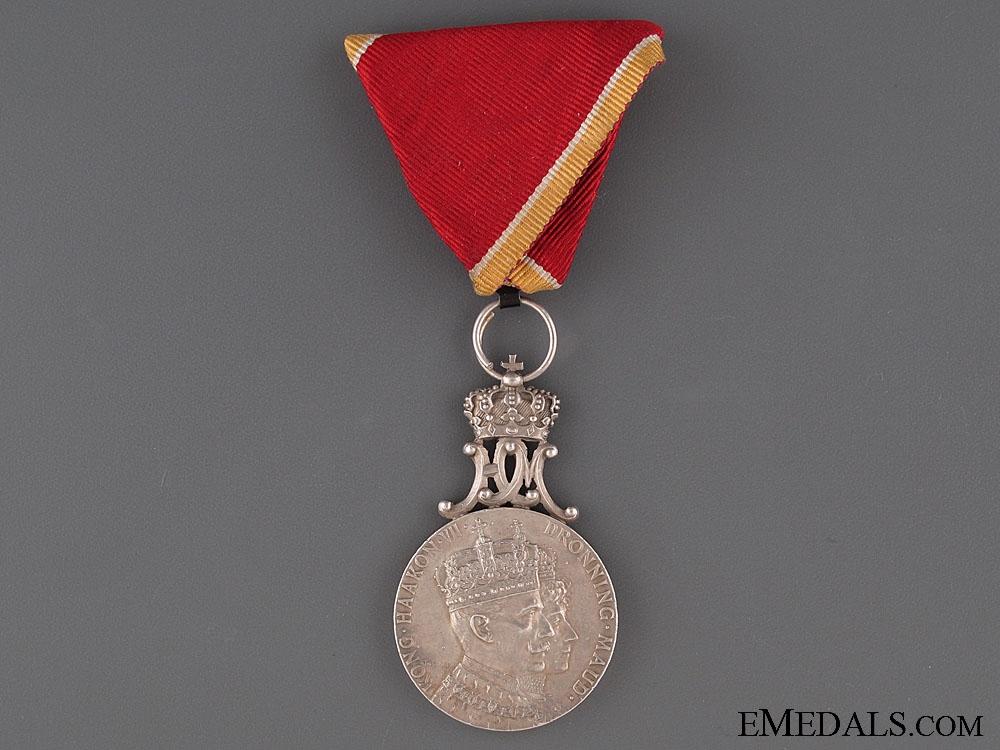 eMedals-King Haakon VII Coronation Medal 1905