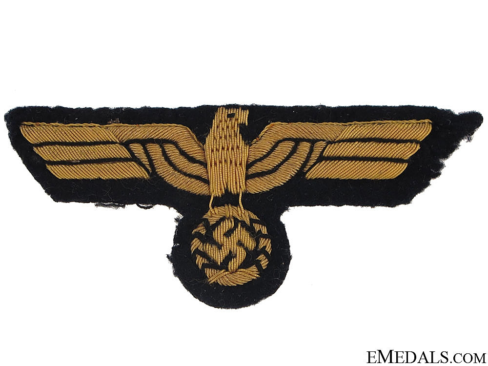 eMedals-KM Officer Tunic Eagle in Cello