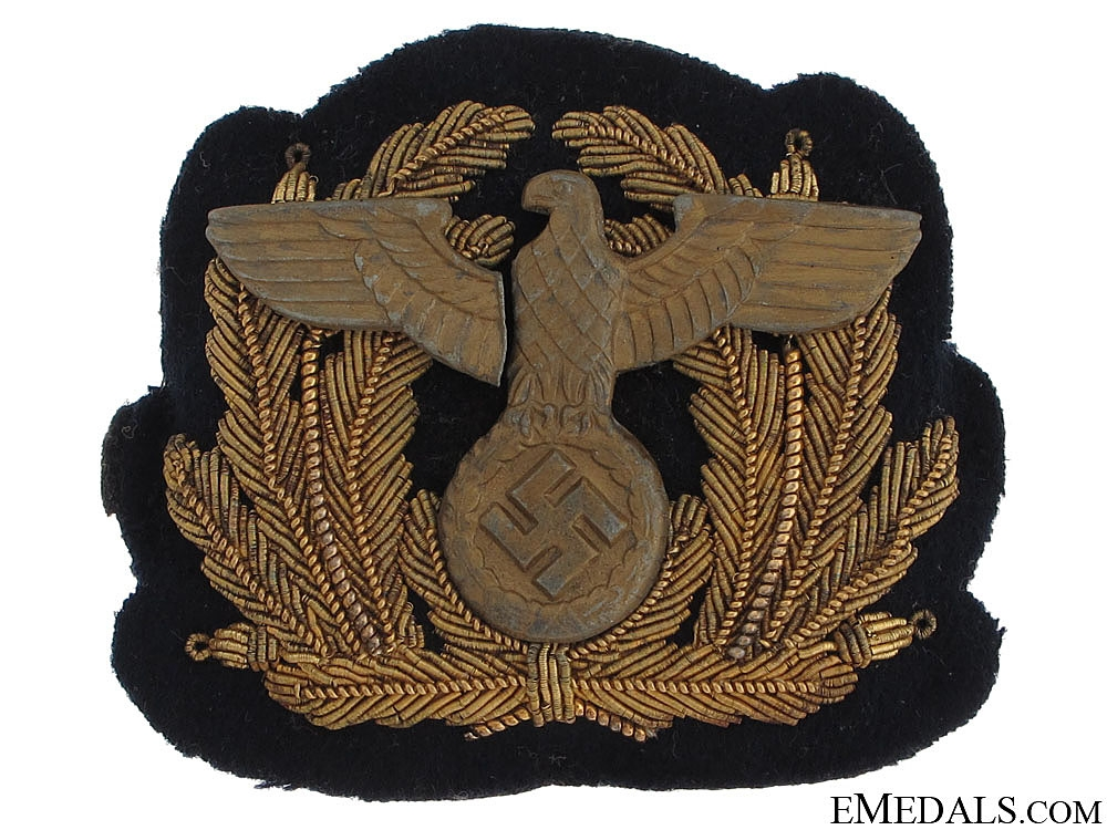 eMedals-Kriegsmarine Cap Badge