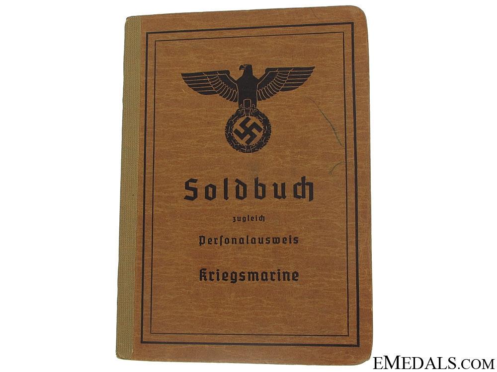 eMedals-Kriegsmarine Soldbuch