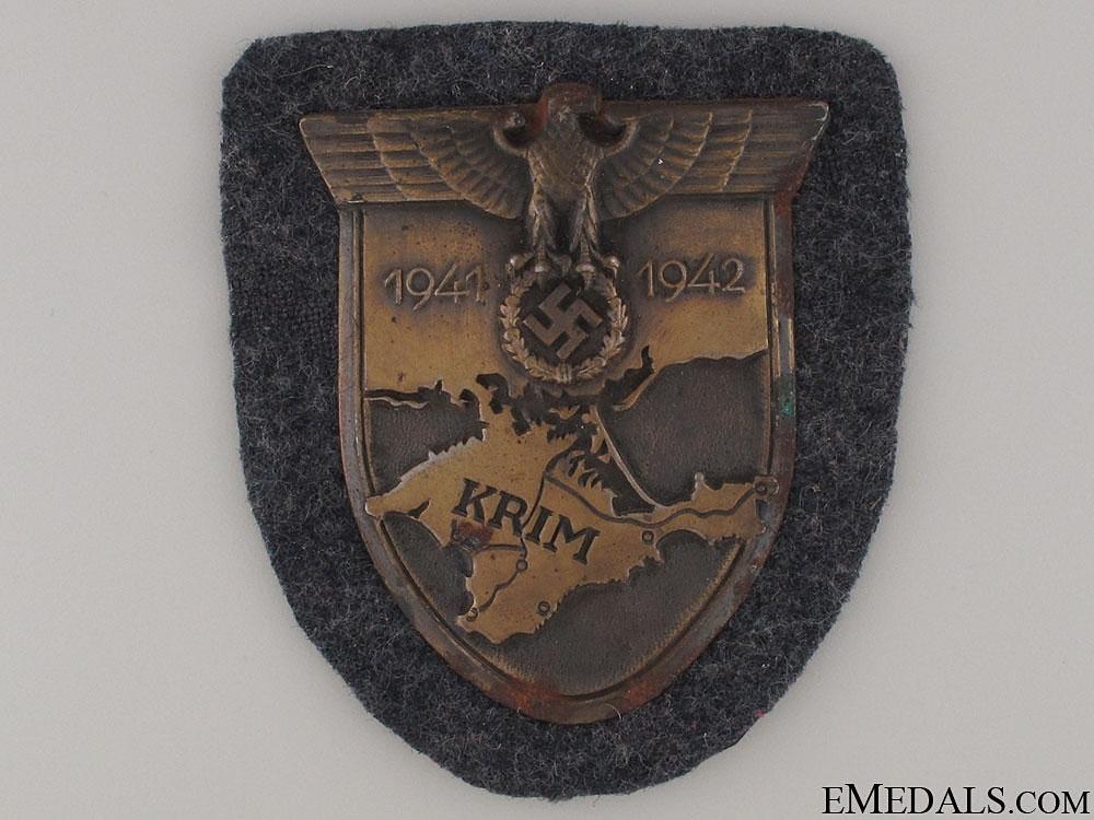 eMedals-A Luftwaffe Issued Krim Shield