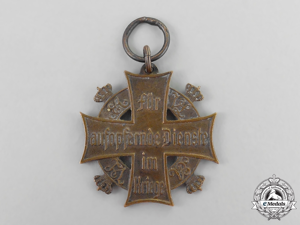 eMedals-Germany, Imperial. A Brunswick 1914 War Merit Cross for Ladies & Young Ladies