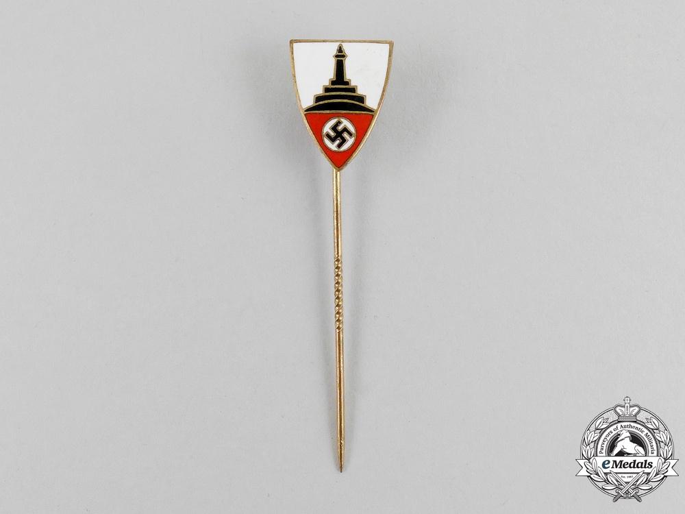 eMedals-A German National Association of Veterans Membership Stick Pin
