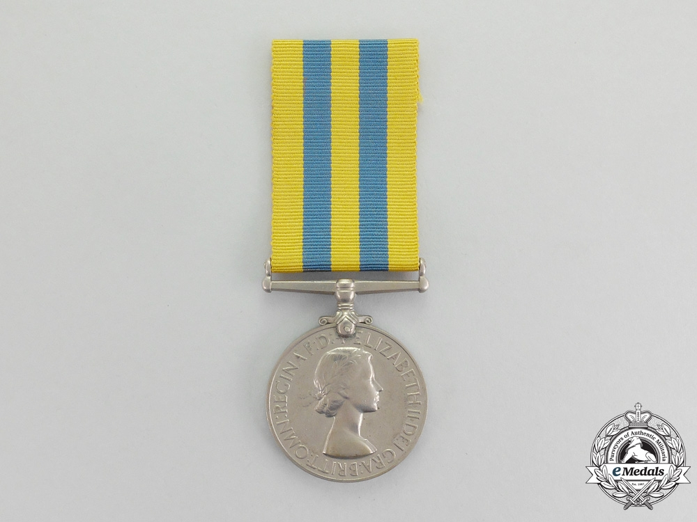 eMedals-Great Britain. A British Korea Medal to Petty Officer N.H.C. Hume, Royal Navy
